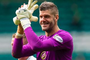 Fraser Forster has starred for Celtic during the Europa League campaign.