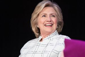 """Former US secretary of state Hillary Clinton said she is """"concerned"""" about the path on which the UK is headed. Picture: GettyImages"""