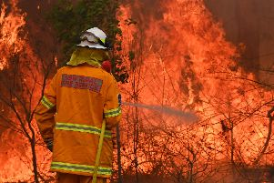 """New South Wales state Emergency Services Minister David Elliott said residents were facing what """"could be the most dangerous bushfire week this nation has ever seen."""""""