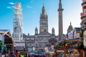 The Glasgow Christmas markets open this month. Picture: Shutterstock