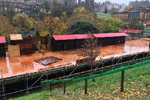 Controversy has raged over the impact of Edinburgh's expanded Christmas market before it has even opened this weekend.