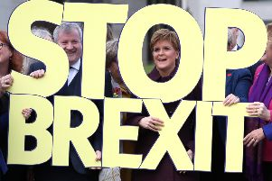 This general election, which Scottish voters think is all about Brexit, is actually about one thing for the SNP: independence. Nicola Sturgeon's one aim is to drag Scotland out of the UK. Picture:  Andrew Milligan/PA Wire