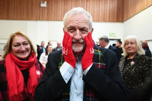Jeremy Corbyn, who kicked of his Scottish tour in Glasgow, has backtracked on his earlier suggestion that his government would not back a second Scottish independence referendum in its first term of office