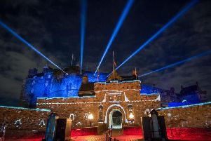 The new Castle of Light event is being staged for six weeks in the run-up to Christmas.