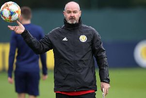 Steve Clarke's Scotland take on Cyprus in their penultimate Euro 2020 qualifier (Getty Images)
