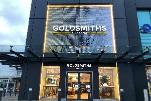 The new store at Fort Kinnaird is Edinburgh's second Goldsmiths. Picture: Contributed