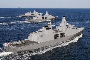 The frigates will cost 250 million each
