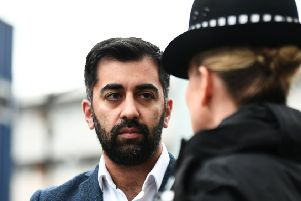 Humza Yousaf says the SNP will do better than last time. Picture: John Devlin