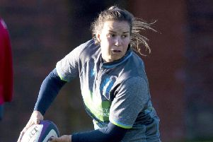 Gearing up for Wales: Scots skipper Rachel Malcolm. Photograph: Gary Hutchison/SNS