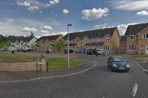 Scott Brae in Livingston where a house has been sealed off since Friday (Photo: Google)
