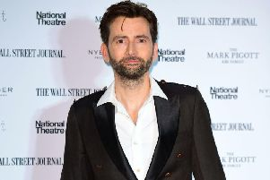 David Tennant attending the Up Next Gala held at the National Theatre, South Bank, London. Picture: PA