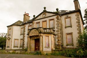 Redhall House has become a target for vandals