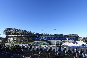 BT Murrayfield, home of Scottish Rugby, which is set to benefit to the tune of �35m in partial sale of Guinness Pro14
