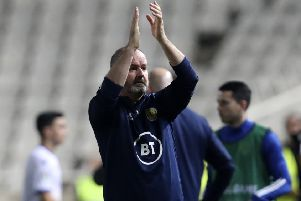 Stee Clarke is getting closer to the vibe and style he achieved at Kilmarnock. Picture: AP