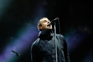 Liam Gallagher in concert In Glasgow as part of his UK tour in support of new album, Why Me? Why Not, 15 November 2019.