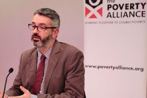 Peter Kelly is the director of the Poverty Alliance
