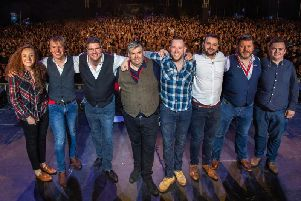 Skipinnish will play their biggest ever gig at City Park in Stirling next August. Picture: Andrew King.