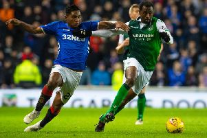 Efe Ambrose has been linked with a return to Scottish football. Picture: SNS