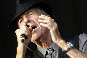 Leonard Cohen PIC: Diego Tuson/AFP/Getty Images