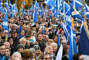 Nicola Sturgeon would have a mandate to stage a second referendum on Scottish independence if the SNP wins a majority in the 2021 Holyrood elections, the Scottish Secretary has indicated.