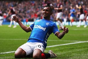 Alfredo Morelos is the joint-most valuable player in the Scottish Premiership (Getty Images)