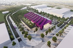New images have been released of what the National Manufacturing Institute Scotland will look like. Image: Contributed