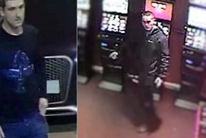 The police believe the men may be from the Liverpool area.