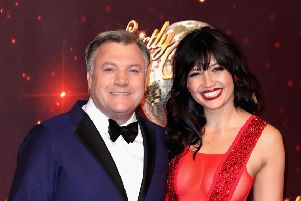 Strictly Come Dancing is usually a rather competitive affair, but Ed Balls, seen with Daisy Lowe, arguably brought a bit of a dad dancing vibe (Picture: Chris Jackson/Getty Images)