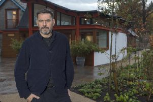 Roland Mouret at Maggie's Edinburgh, which he has been visiting since 2017