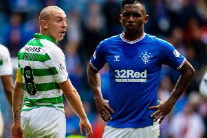 Celtic won the last Old Firm clash at Ibrox. Picture: SNS