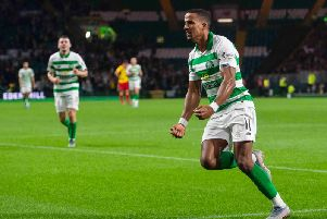Celtic midfielder Scott Sinclair. Picture: SNS