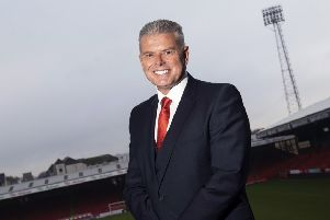 Incoming Aberdeen chairman Dave Cormack at Pittodrie. Picture: Craig Foy/SNS
