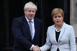 If Boris Johnson wins the election, will that provide an opportunity for Nicola Sturgeon, asks Lesley.