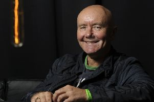 Irvine Welsh claimed Russia's Kremlin-backed RT news organisation was 'justly calling out' BBC bias (Picture: Neil Hanna)
