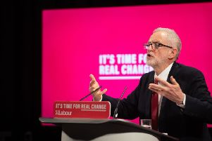 Jermy Corbyn's pledge to WASPI women had been absent from the Labour manifesto launched just days before and funding details were sketchy. Picture: PA