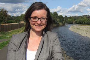 Jenny Marr, Lib Dem candidate for the Berwickshire, Roxburgh and Selkirk constituency.