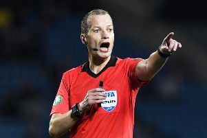 Referee Willie Collum last took charge of a meeting between the Old Firm in September last year. Picture: Craig Foy/SNS