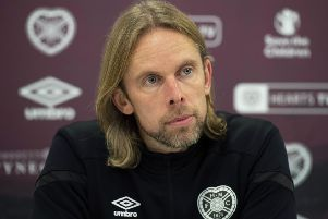Hearts interim manager Austin MacPhee. Picture: Craig Foy / SNS