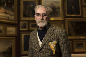 John Byrne will celebrate turning 80 at a Paisley Book Festival party in February. Picture: Andrew O'Brien