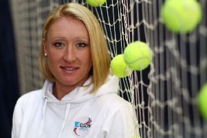 Former British No 1 Elena Baltacha's life will be celebrated in a documentary on BBC Alba. Picture: Julian Finney/Getty Images
