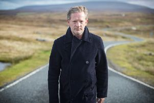 Douglas Henshall plays Detective Inspector Jimmy Perez, the lead character in Shetland.