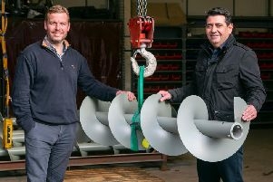 Kris Hunter, general manager, Spiral Services and Neil Thomson, CEO, Spiral Services. Picture: Contributed