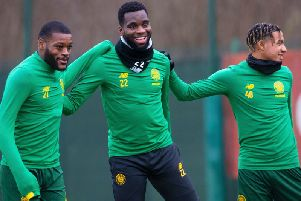 Neil Lennon is hopeful Odsonne Edouard will be fit to face Rangers in Sunday's Betfred Cup final