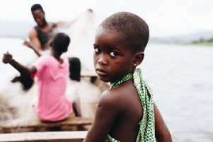 Esther, who was trafficked in Ghana