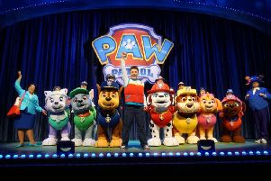 Everyone's favourite Paw Patrol characters will take to the stage for fun adventures. (Picture: P&J Live Marketing)