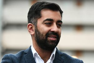 Justice Secretary Humza Yousaf noted a number of improvements in the police service during Susan Deacon's time as chair of the Scottish Police Authority (Picture: John Devlin)