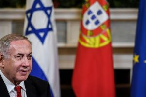 Mr Netanyahu said his proposal to annex the strategic part of the occupied West Bank was discussed during a late-night meeting with U.S. Secretary of State Mike Pompeo