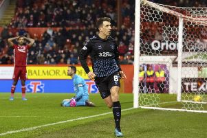 Rangers' Ryan Jack scored against his former Aberdeen on Wednesday. Picture: Alan Harvey / SNS