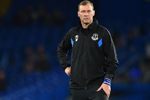 Duncan Ferguson will take charge of Everton for Saturday's game against Chelsea. Picture: Getty Images