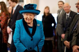 A completely untrue rumour that The Queen had died circulated globally on social media this week. Picture: PA